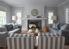 silver blue living room cream color room theme with black and