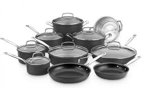 Cuisinart Dishwasher Safe Anodized Cookware Chef U0027s Classic Nonstick Hard Anodized Cookware Products