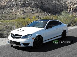 mercedes c300 aftermarket accessories the 2013 mercedes c63 amg 507 edition rocking all of the rw carbon