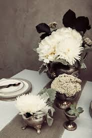 Black And Silver Centerpieces by 100 Best Black U0026 White Weddings Images On Pinterest Black White