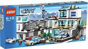 Lego Headquarters Lego 7744 Police Headquarters City Police Instruction Booklet