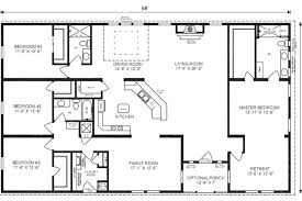 5 bedroom house floor plans rectangular floor plans rectangle house plans expansive one story i