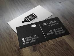 Eye Catching Business Cards 30 Examples Creative Chef Business Card For Inspiration