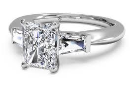 radiant cut engagement ring buy radiant cut engagement rings ritani