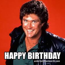 David Hasselhoff Meme - entertainment earth on twitter happy 63rd birthday to david