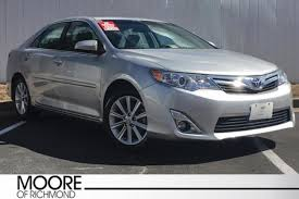 toyota xle used for sale used 2014 toyota camry xle for sale richmond va vin