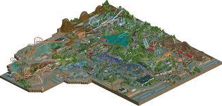 Six Flags Great Adventure Map New Element Park Six Flags Santa Fe