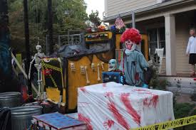 halloween display in winchester ma scary events