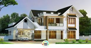 5 bedroom home 2765 square 5 bedroom semi contemporary home kerala home