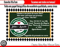 Popular Convite Boteco Heineken chá bar no Elo7 | Silvia Lima Artes em  &WR32