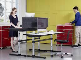 office desk adjustable height usm haller home office table height adjustable writing desk by