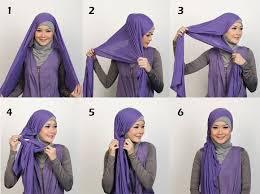 tutorial hijab turban ala april jasmine hijab pasmina anak muda hijab style 6