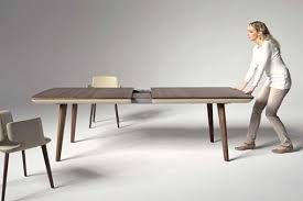 contemporary dining tables extendable modern expandable dining table pleasant design ideas extendable