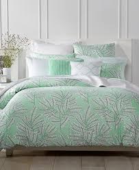macy bedding sets charter club damask designs fern mint comforter sets created for