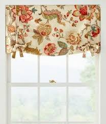 Tie Up Valance Kitchen Curtains Soft Subtle Texture And Eye Catching Color For Your Rooms You