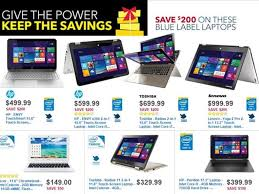 best laptop deals cyber monday black friday best buy black friday 2014 laptop desktop deals include 780