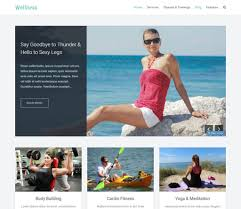 wordpress templates for websites 10 best free responsive fitness wordpress themes u0026 templates 2018