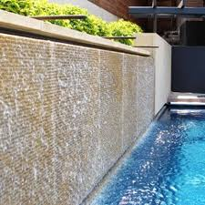 Backyard Feature Wall Ideas 30 Relaxing Water Wall Ideas For Your Backyard Or Indoor