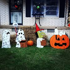 outside halloween crafts our