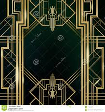 the great gatsby deco style in illustrator and photoshop hd