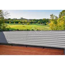 30 inches tall x 39 ft long standard size privacy screen