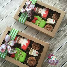 cookie gift boxes sugar coma cookies christmas on the shelf gift box milk