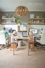 22 creative workspace ideas for couples white paneling family