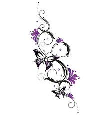 tribal flower butterfly style vector 1534748 by christine