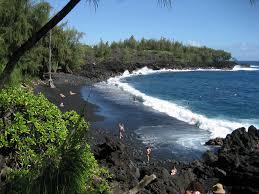 top 10 black sand beaches toptenz net