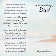 Words Of Comfort For Loss Of Sister In Loving Memory Cards For Dad He Never Looked For Praises