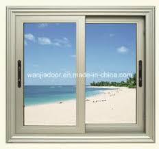 Secure Sliding Windows Decorating Security Aluminium Sliding