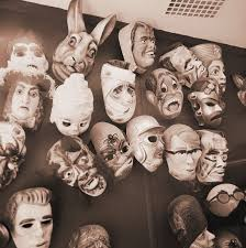 Real Looking Halloween Masks 20 Best Vintage Halloween Decorations Retro Halloween Decor
