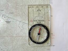 Magnetic Declination Map Find Your Way Old Map And Compass Skills Tread Magazine