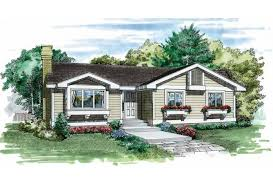 one house eplans cottage house plan one home 1253 square