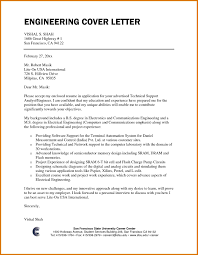 Ideas Collection Example Cover Letter Ideas Collection Sample Cover Letter For Electronics Engineering