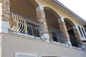 bison fence spring texas balcony railing gallery