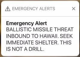 human centered design and the missile false alarm in hawaii