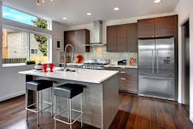 kitchen island contemporary contemporary kitchen with kitchen island by isola homes zillow