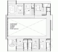 baby nursery house plans with central courtyard house plans with