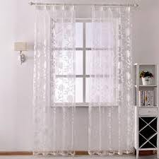 sheer window treatments free shipping organza curtains made treatments ready tulle fashion
