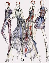 famous fashion designers sketches latest trend fashion