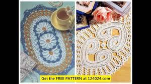 Crochet Table Runner Pattern Crochet Doily Table Runner Youtube