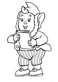 big ear bring noddy favorite book coloring pages bulk color