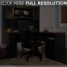 Black Corner Computer Desk With Hutch by Corner Desk Office Furniture From Sauder Glass Computer Desk Pc
