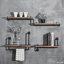 etagere mural cuisine murales loft étagère en fer étagère murale étagère en pot étagère en