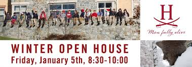 the heights winter open house