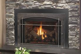 living room stunning gas fireplace inserts with faux stone