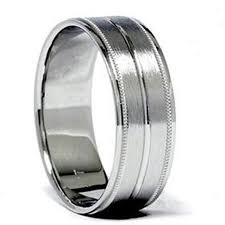 palladium mens wedding band cheap palladium wedding rings for men find palladium wedding