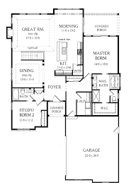 28 2 bedroom ranch floor plans 654069 one story 3 bedroom 2