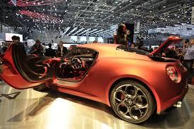 alfa romeo concept geneva show alfa romeo 4c coupe concept with mid mounted 1 75
